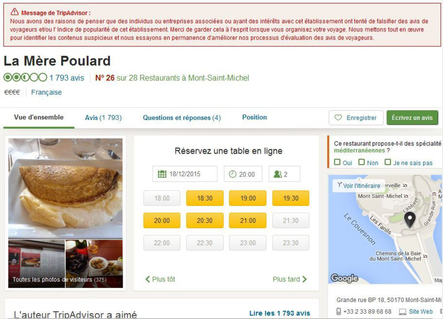 l-avertissement-de-tripadvisor-sur-la-page-du-restaurant-la-mere-poulard-1_5486000